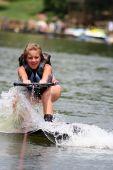 Wakeboarding Girl
