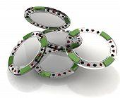 Glass Poker Chips
