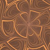 An interesting geometric abstract background in warm colors