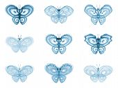 Virtual Fractal Butterflies