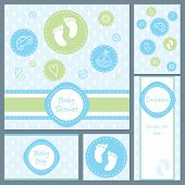 Baby Shower Card Set