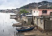 Houses by the river, Haiti