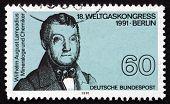 Postage Stamp Germany 1991 Wilhelm August Lampadius, Chemist