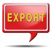 export international trade logistics freight transportation world economy exportation of products