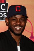LOS ANGELES - MAY 1:  Kendrick Lamar at the 1st iHeartRadio Music Awards Press Room at Shrine Audito