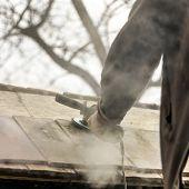 Roofer - Sanding