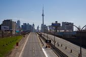 Gardiner Expressway Whilst Closed To Traffic