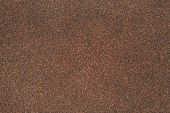Sand Texture Of Rubberoid, Asphalt Macro Background