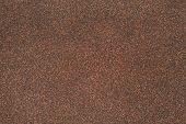 Sand Texture Of Rubberoid, Asphalt Macro Background