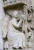 protome cathedral Altamura (Apulia) ITALY