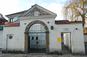 image of synagogue  - The old Jewish Remu - JPG