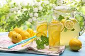 Citrus lemonade,summer drink.