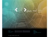 Spider Web Design template