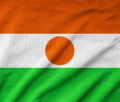 Ruffled Niger Flag