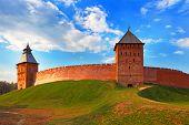 Kremlin.  Novgorod.  Russia
