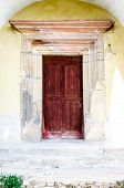 picture of woodcarving  - Old woodcarved door - JPG