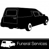 An image of a hearse.
