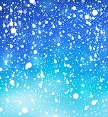 Snow theme background 1 - eps10 vector illustration.