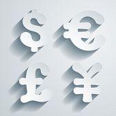 Currency symbols