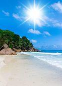 Remote Resort On a Sunny Beach