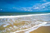 Serene Waters On a Beach