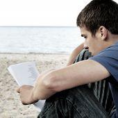 Teenager Read Outdoor