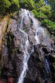 Waterfall At Azores Islands
