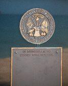 Army Plaque On Granite Stone