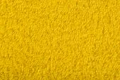 Background Of Yellow Terry Towels.