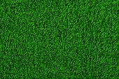 Background Of Green Terry Towels.