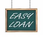 3D Hanging Banner - Easy Loan