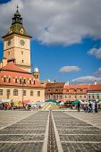 The Council Square, Brasov, Romania