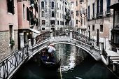 picture of gondolier  - Venice - JPG
