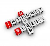 Internet Never Sleeps