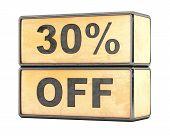 30 percent Sale Discount