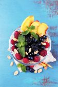 pic of yogurt  - Healthy breakfast  - JPG