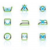 Laundry Care and fabric Symbols and icons