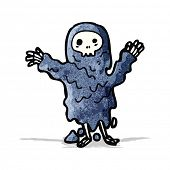 spooky ghoul cartoon character