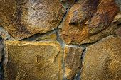Abstract background with rough stonework
