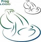 foto of tadpole  - Logo of the frog - JPG