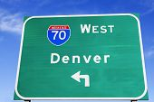 pic of kansas  - Denver direction and Interstate 70 - JPG