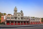 stock photo of fire-station  - the famous Central Fire Station of Singapore city - JPG