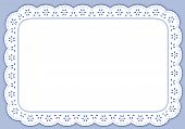 Blue Eyelet Place Mat