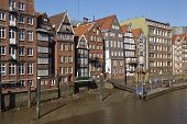 pic of fleet  - The old houses at the Nicolai Fleet  - JPG