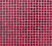 stock photo of grout  - Texture of red square tiles on wall - JPG
