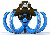 picture of octopus  - Fun octopus - JPG