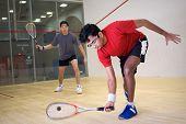 Jugadores de squash