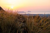 picture of costa blanca  - Costa Blanca sunrise with Altea bay in the background - JPG