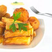 Fried manioc sticks