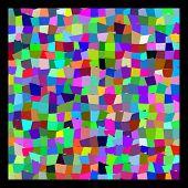 Vector Colorful Mosaic Seamless